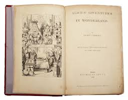 One Of The Largest Collections Of Alice In Wonderland Books And
