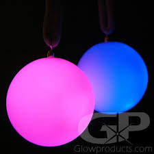 glow lights glowing poi light up led poi balls glowproducts