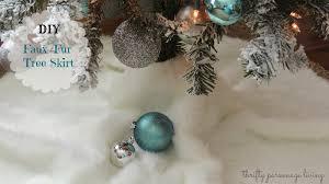 white christmas tree skirt christmas lights decoration