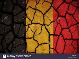 Belgia Flag Belgium Flag Painted On Cracked Soil Stock Photo Royalty Free