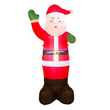 home depot inflatable outdoor christmas decorations christmas inflatables outdoor christmas decorations the home depot