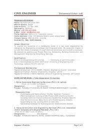 sample resume building engineer professional resumes example online