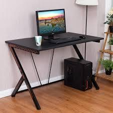 Gaming Desk Pc Costway Gaming Desk Computer Desk Pc Laptop Table Workstation Home