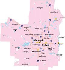 Map Of St Paul Mn Minneapolis St Paul Area Explore Minnesota