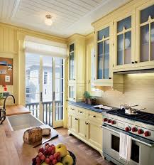 Yellow Kitchen Cabinets What Color Walls Wall Decor Kitchen Ideas Yellow Kitchen White Cabinets White