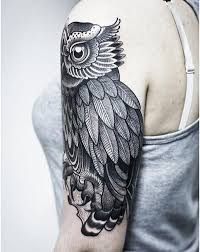29 best black owl tattoos for men images on pinterest black owl