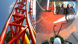 Six Flags Rides Ga Six Flags Over Georgia Has A New Virtual Reality Roller Coaster