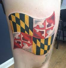 maryland pride tattoo by rob zeinog of evolved body arts in