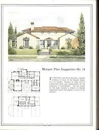 spanish revival home plans