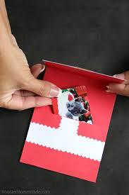handmade christmas card hoosier homemade
