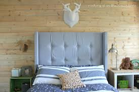 boys headboard ideas diy upholstered wingback headboard