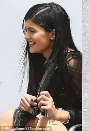 jenner hair extensions jenner opts for an edgy look with new hair extensions and