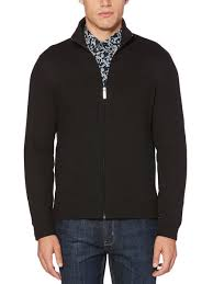 mens sweaters s sweaters pullover zip up v neck perry ellis
