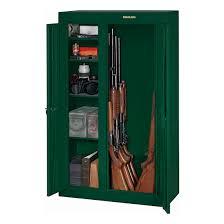 stack on double door gun cabinet stack on 10 gun double door security cabinet hunter green walmart com