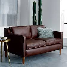 Contemporary Leather Loveseat Best 25 Leather Loveseat Ideas On Pinterest Orange Library