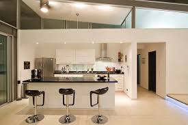 Kitchen Island Bar Designs by Kitchen Sleek Design Custom Built Modern And Functional Kitchen