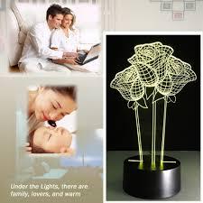 aliexpress com buy acrylic transparent exquisite led night light