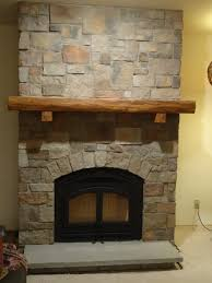 live edge antique white oak mantel with simple corbels u2022 the