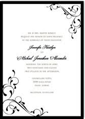 wedding invitations printable black and white wedding invitations printable diy templates
