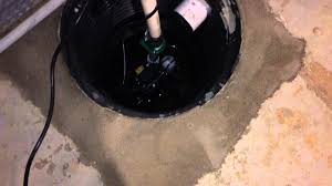 basement waterproofing sump pumps french drains philadelphia youtube