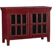 crate and barrel media cabinet crate barrel rojo red media cabinet aptdeco