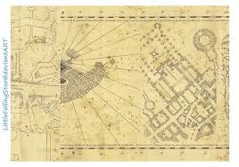 Harry Potter Marauders Map Images Of Marauders Map The Messrs Sc