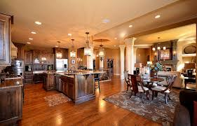 open floor house plans with loft benefits of one story house plans interior design dining room