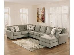 4 Cushion Sofa by Ashley Furniture Patola Park Patina 4 Piece Sectional With Right