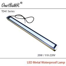 explosion proof led work light hntd td41 20w 110 220v led metal panel light cnc machine tool