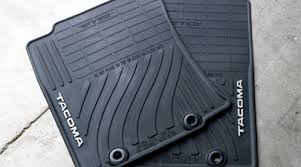 floor mats for toyota toyota tacoma all weather floor mats