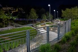 germantown town center park gilmore lighting design