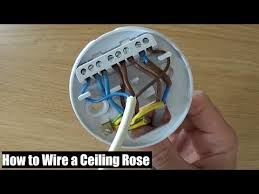 how to wire a ceiling rose lighting circuits explained ceiling
