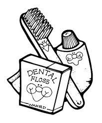 dental health dentist coloring pages bulk color