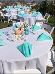 beach theme wedding table decorations beach theme wedding thank
