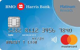 credit cards bmo harris bank