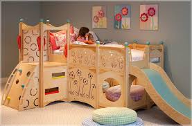 Beds With Slides For Girls by Wonderful White Beach House Loft Bed Ne Kids For Kid Loft Bed With