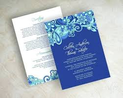 wedding invitations royal blue royal blue and silver wedding invitations for like this