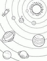 solar system color pages aecost net aecost net