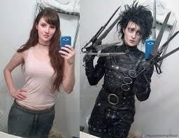 Johnny Depp Costumes Halloween Edward Scissorhands Crossplay Alysontabbitha