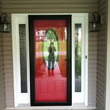 storm doors red front doors and front doors on pinterest for homes