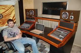 home recording studio desk show me your homemade or custom made console or studio furniture no