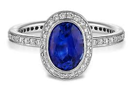 oval sapphire engagement rings oval blue sapphire halo engagement ring in platinum
