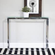 narrow metal console table glass and metal console table luxury small top tables ideas