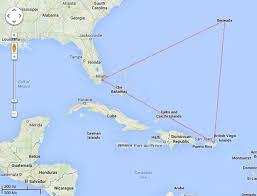 map usa bermuda how big is the bermuda triangle robert kaplinsky