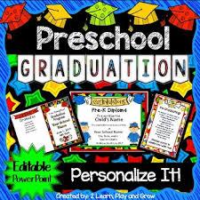 preschool graduation diploma preschool graduation diplomas invitations and program for ceremony