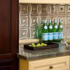 Tin Ceiling Tiles Backsplash Ideas For A Unique Kitchen Bob Vila - Tin ceiling backsplash