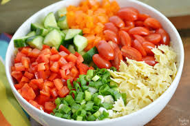 cold salads creamy bowtie pasta salad finding zest