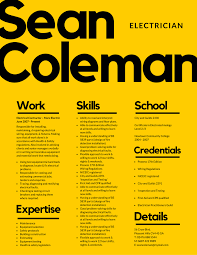 Simple And Attractive Resume Make An Enduring First Impression On Hirers With A Bold And