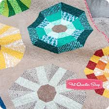 sea urchins quilt kit featuring reef by elizabeth hartman quilt