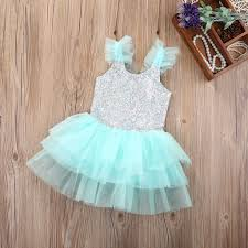 baby toddler sky blue lovely princess party tutu dress u2013 cute